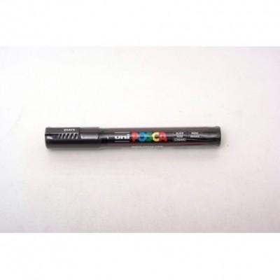 Marcador Posca PC-5M Negro (0200) Uni-ball