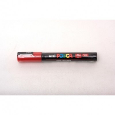 Marcador Posca PC-5M Rojo (0400) Uni-ball