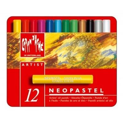 Crayon neopastel lata x 12 colores CD'A
