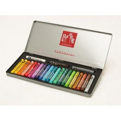 Crayon neopastel lata x 24 colores CD'A