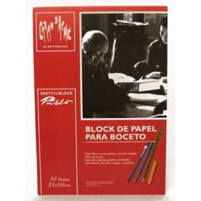 Block Pablo para boceto 35x50cm 30 hjs 180grs CD'A