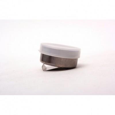 Aceitera metalica simple c/tapa Artmate