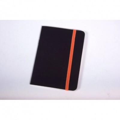 Libreta lisa con elastico x 16 hjs