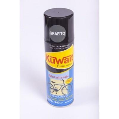 Esmalte sintetico en aerosol grafito 240cc