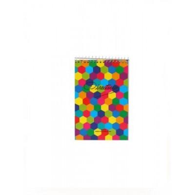 Block con espiral 9x12 cm LISO x50 hojas Directorio