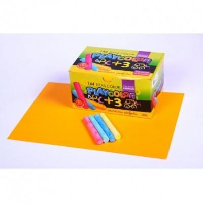 Tiza color x 144 unidades Playcolor