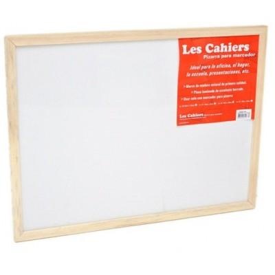 Pizarra 30x45 cm BLANCA marco madera