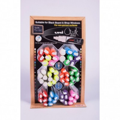 Marcador posca tinta tiza líquida 5M / 1,8-2,5 mm Uni-ball