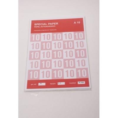 Sobre etiqueta x25  1xhoja A4