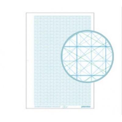 Papel milimetrado transparente A4 x 10 hojas Plantec