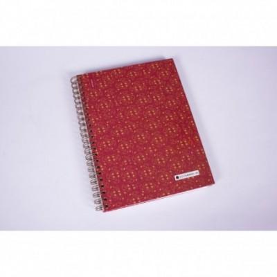Cuaderno con espiral A4 tapa dura Nirvana x 150 hojas rayado Cita Kit Modelo 2