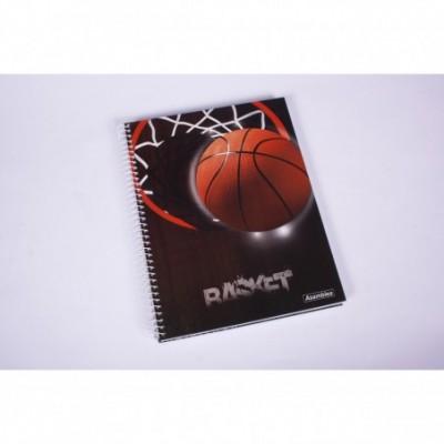Cuaderno con espiral A4 tapa dura sports x 80 hojas rayado Asamblea