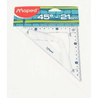 Escuadra 21 cm x 45º geometric Maped