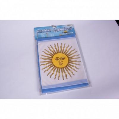 Bandera Argentina con sol 90x144