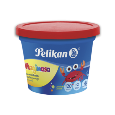 Masa pote ROJO x100 grs Pelikan