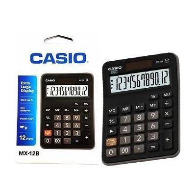 Calculadora Casio escritorio extra gde 12 digitos