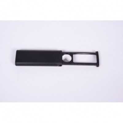Lupa PT-30mm acryl de bolsillo c/corredera 2 lentes