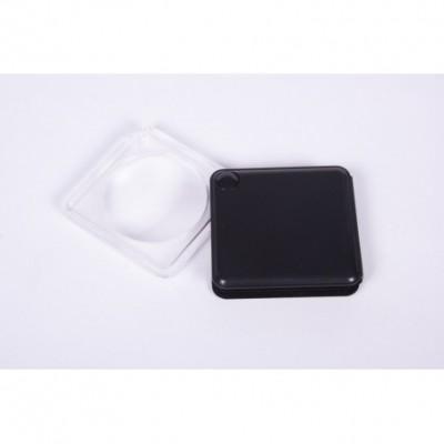 Lupa 8843 50mm acryl de bolsillo plegable