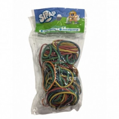 Bandas elásticas de 40 mm COLORES x50 grs Sifap