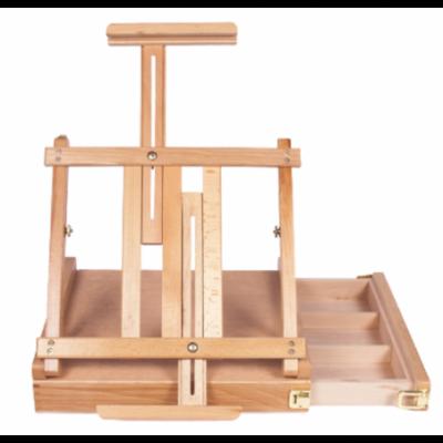 Set Caja Madera +Atril 42x36x5,6 cm para canvas hasta 62 cm Artmate