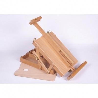 Caja con atril 33x23x7,5 cm para canvas hasta 55cm Artmate