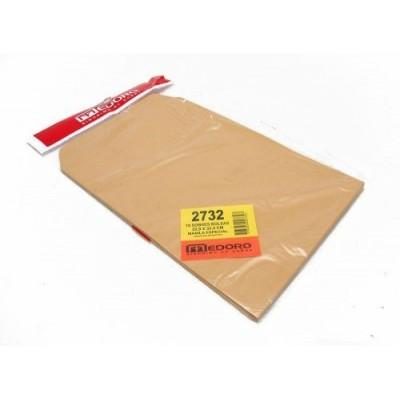 Sobre bolsa manila 22,9x32,4 cm 80 grs x 10 unidades
