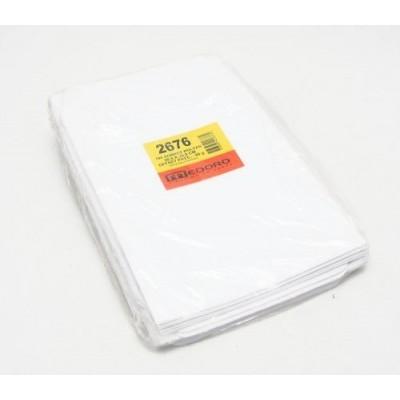 Sobre blanco 20,5x28 cm 80 grs x 100 unidades