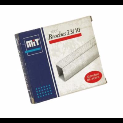 Broche para abrochadora Nº23/10 x1000 unidades MIT