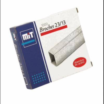 Broche para abrochadora Nº23/13 x 1000 unidades MIT