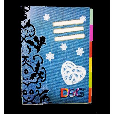 Separadores A4 en cartulina indizados DSG