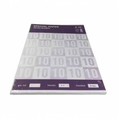 Resma Papel A4 Extra Blanco x50 hojas de 180 Grs Special Paper