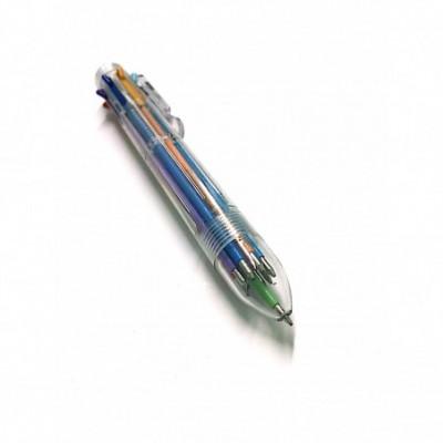 Lapicera multiple 8 colores retractil COLOR PEN