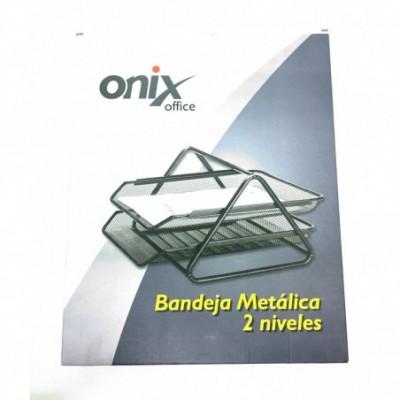 Bandeja de Alambre 2 pisos NEGRO Onix