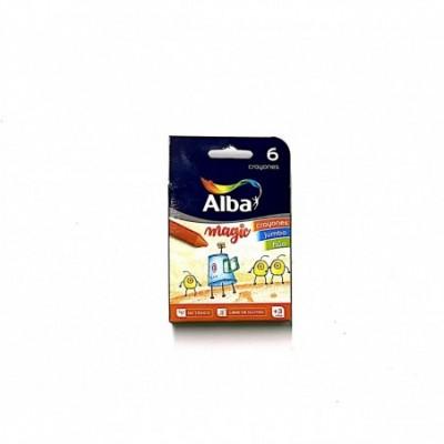 Crayones Jumbo Fluo X 6 ALBA