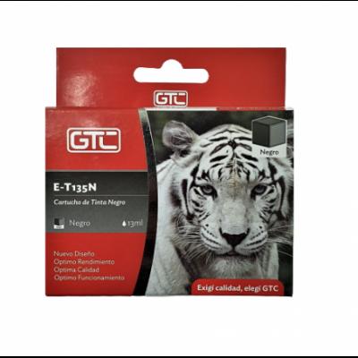 Cartucho para Impresora Epson XP125 NEGRO GTC