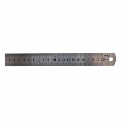 Regla ACERO 20 cm Onix