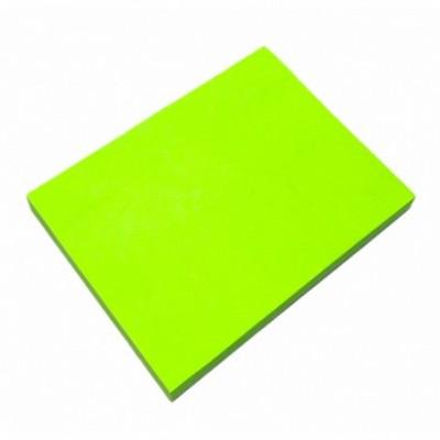 Nota Adhesiva 100x75 mm x80 hojas surtidos NEON VERDE Memo Fix