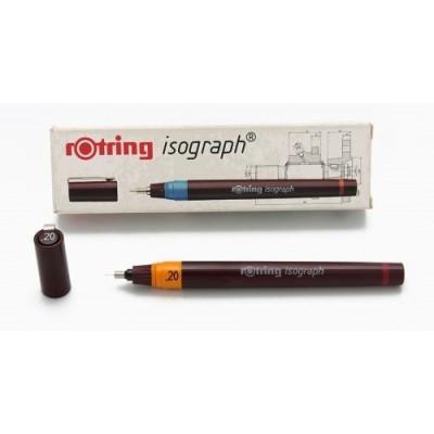 Isograph estilografo completo 0,2 Rotring