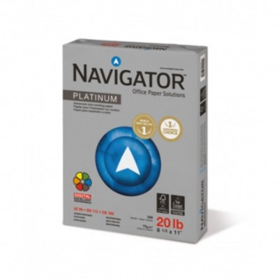 Resma Papel A4 Platinum x500 hojas de 75 grs Navigator
