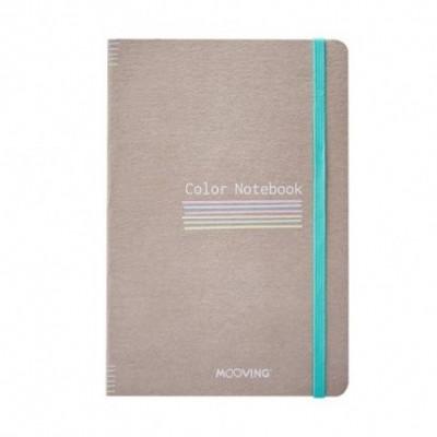 Cuaderno 13,5x21 cm COLOR NOTEBOOK Mooving