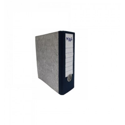 Bibliorato lomo ancho ESQUELA de cartón con solapa telada MAG