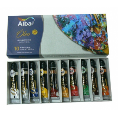 Set Oleo Profesional de 18 ml estuche x10 unidades  Alba