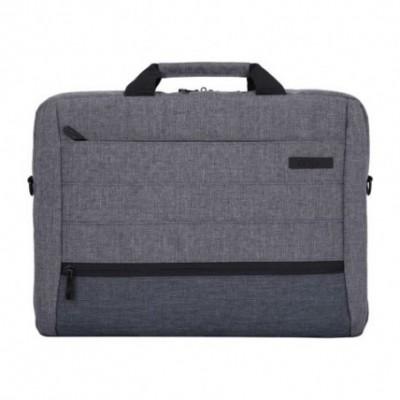 Maletín Laptop GRIS 15,6 pulgadas 3 cierres Onix