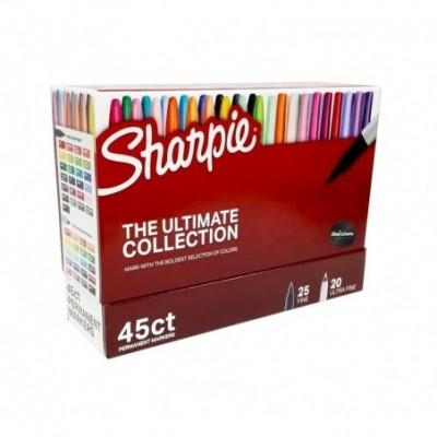 Marcador Permanente THE ULTIMATE COLLECTION x45 unidades caja Sharpie