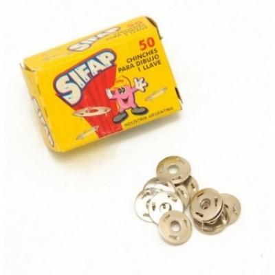 Chinches de 3 puntas cajita x 50 unidades Sifap