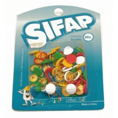 Chinches forradas blister x 80 unidades Sifap