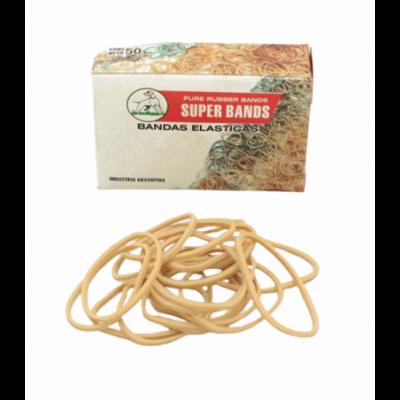 Bandas elásticas de 40 mm caja x50 grs Super Bands