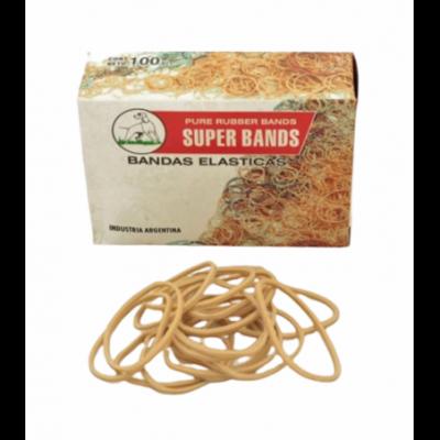 Bandas elásticas de 40 mm caja x100 grs Super Bands