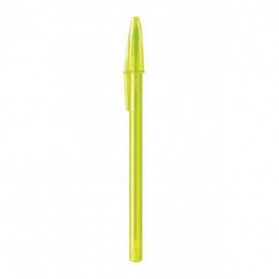 Bolígrafo Cristal FASHION LIMON 1 mm BIC