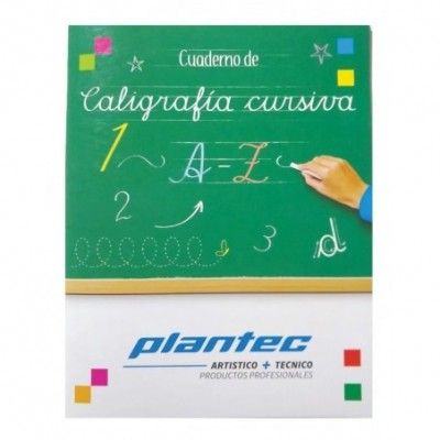 Cuaderno de Caligrafía CURSIVA Plantec